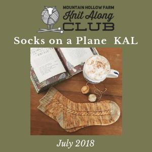 Socks on a Plane KAL